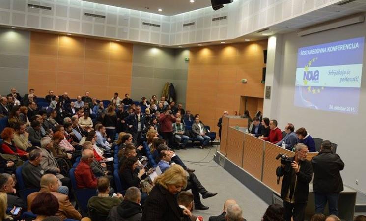Održana Šesta redovna konferencija Nove stranke