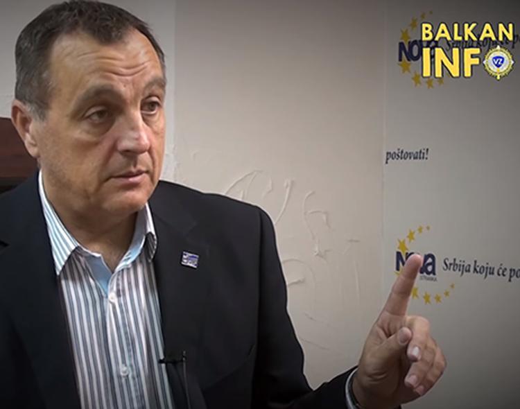 Gostovanje Živkovića u emisiji Intervju na Balkan Info