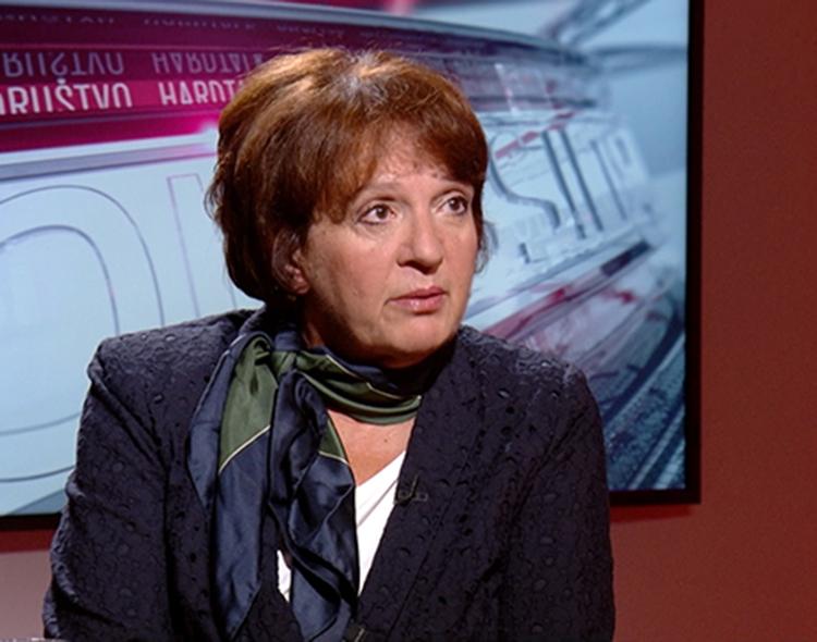 Vesna Rakić Vodinelić u emisiji Pressing na TV N1