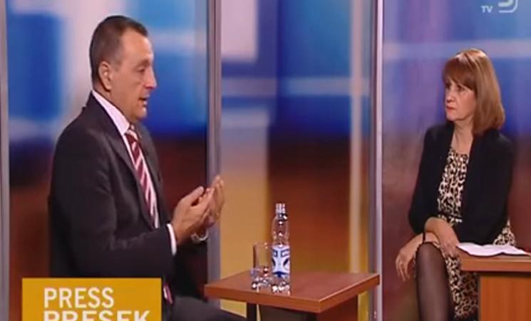 Gostovanje Živkovića u emisiji Press presek na TV Kanal 9