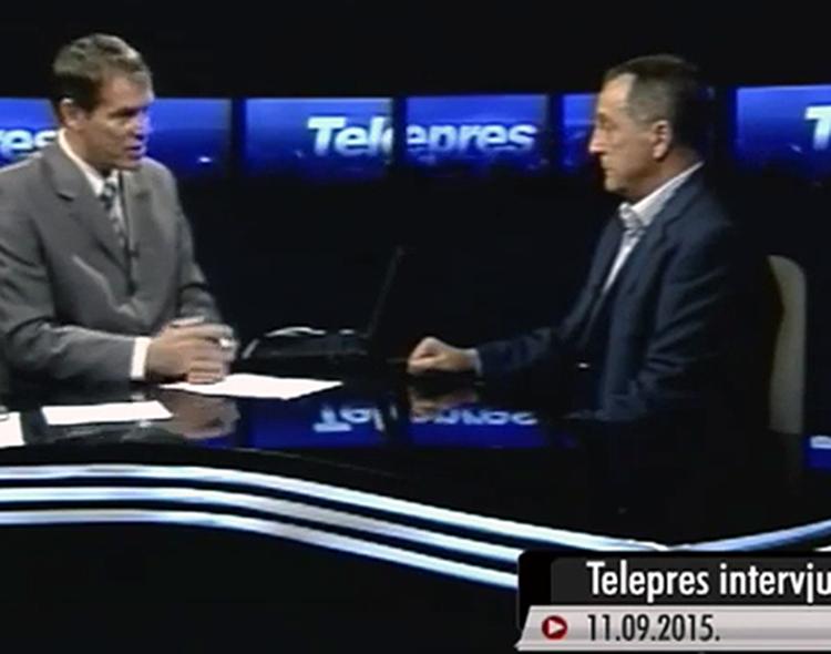 Gostovanje Živkovića u emisiji Telepres na NTV