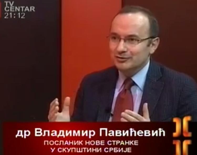 Gostovanje Pavićevića u emisiji Usijanje na TV Centar