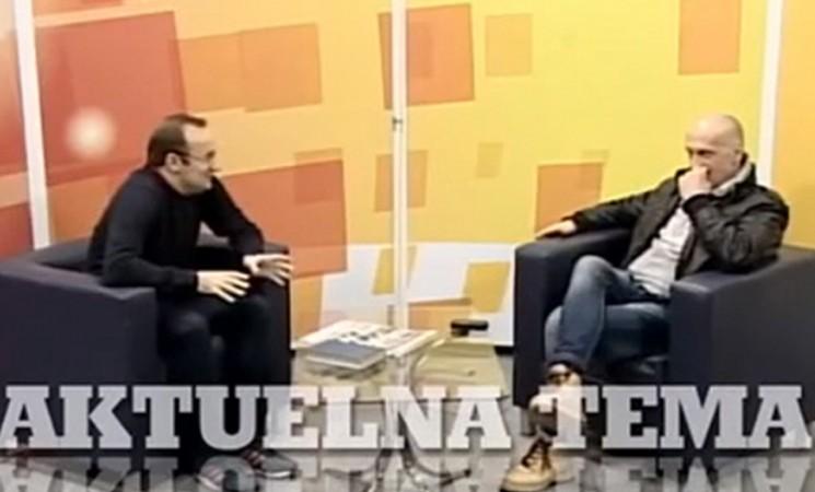 Gostovanje Pavićevića u emisiji Aktuelna tema na RTV Kanal AS