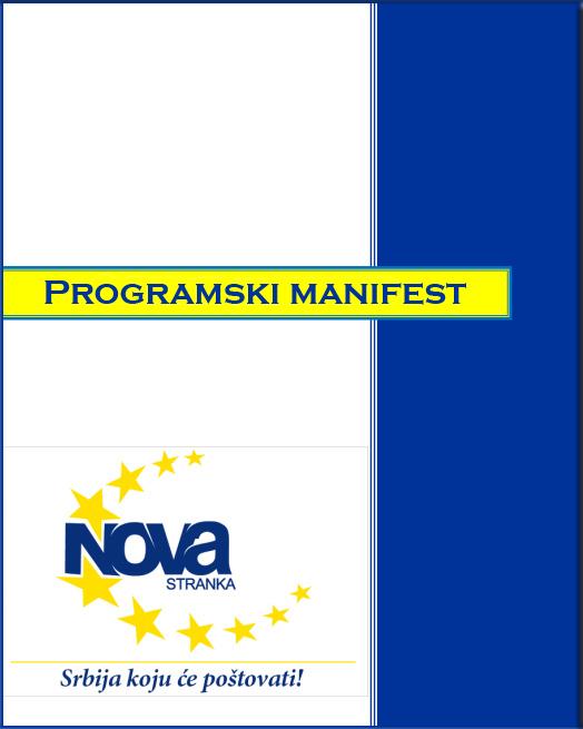Forum mladih - Manifest