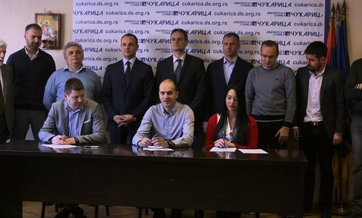 """NOVA potpisala koalicioni sporazum """"Demokratska Čukarica"""""""