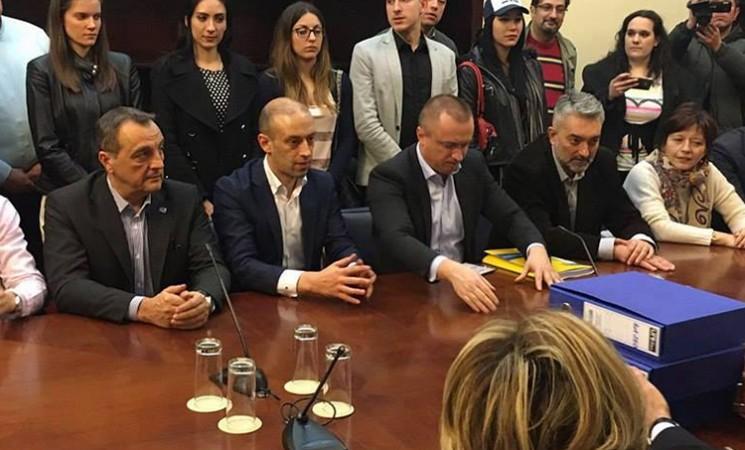 """Proglašena izborna lista """"Za pravednu Srbiju"""""""