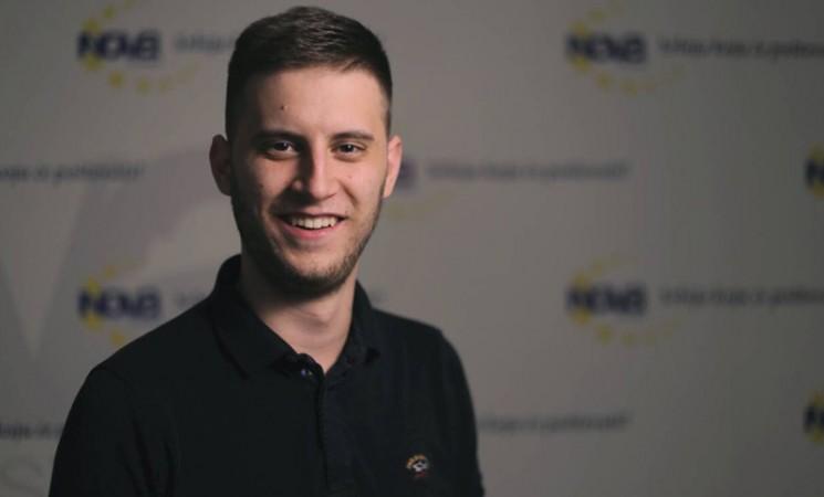 Eleković: Velika mi je čast što ću biti predstavnik Foruma mladih na kongresu u Briselu