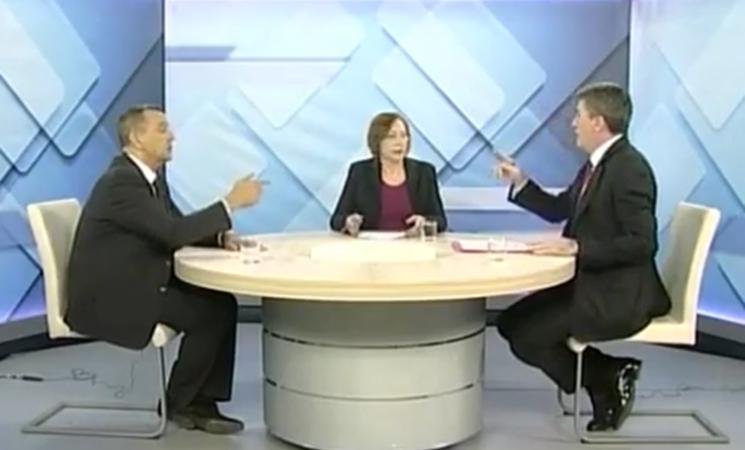 Živković u emisiji Necenzurisano na TV Šabac
