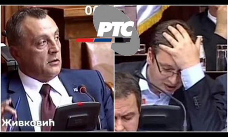 RTS da organizuje TV duel između Živkovića i Vučića