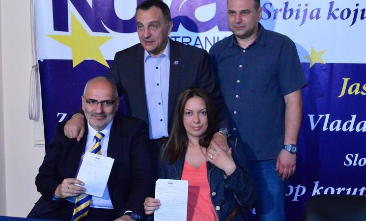 Dragana Rodić Aranđelović i Saša Živić od danas članovi NOVE