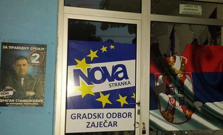 Napad na NOVU u Zaječaru patološka posledica Vučićevog političkog nasilja