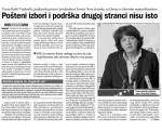 Vesna Rakić Vodinelić: Pošteni izbori i podrška drugoj stranci nisu isto