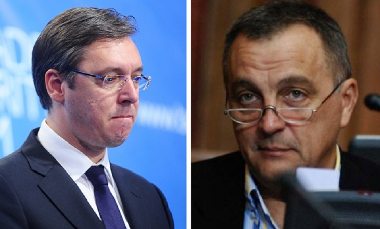 Živković argumentima, a Vučić na njega lažima!