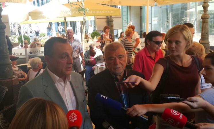 Živković sa Mesićem o odnosima između Srbije i Hrvatske