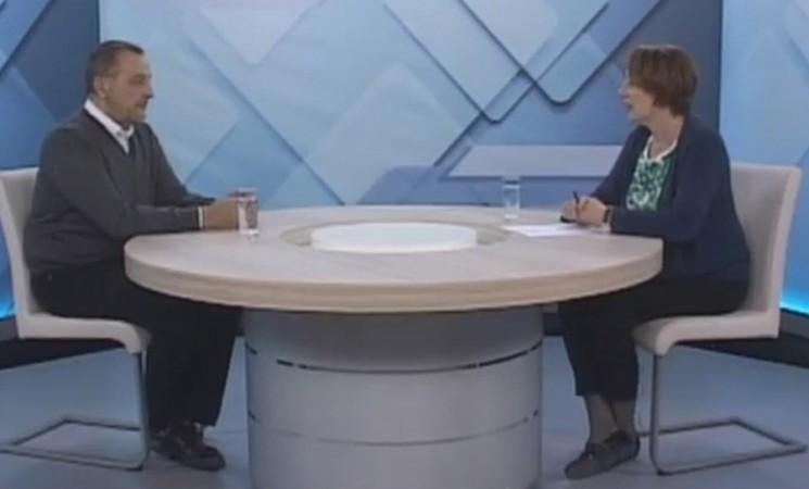"""Zoran Živković u emisiji """"Necenzurisano"""" na TV Šabac"""