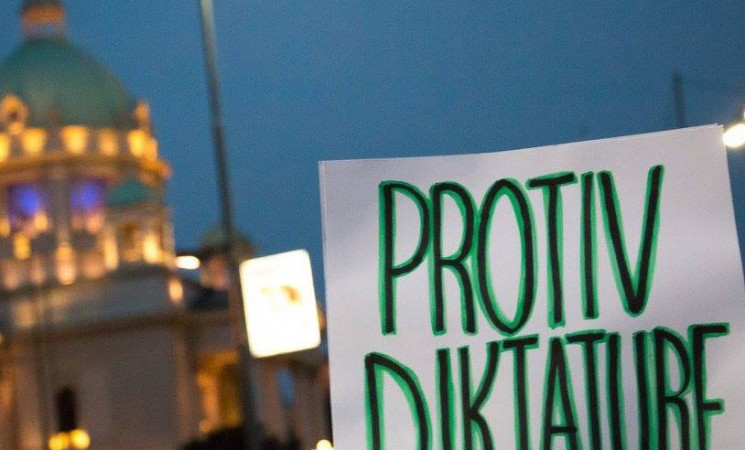 NOVA poziva na protest Protiv diktature