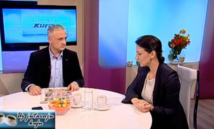 Marinika Tepić u emisiji Ratka Femića na TV Naša