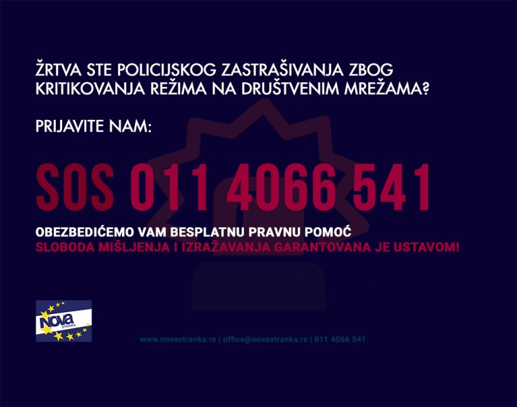 SOS telefon za žrtve političkog nasilja