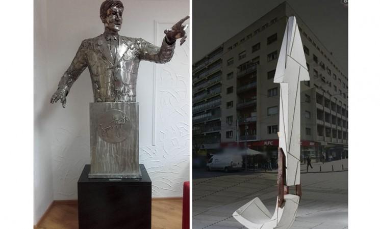 Depersonalizacija Zorana Đinđića spomen obeležjem