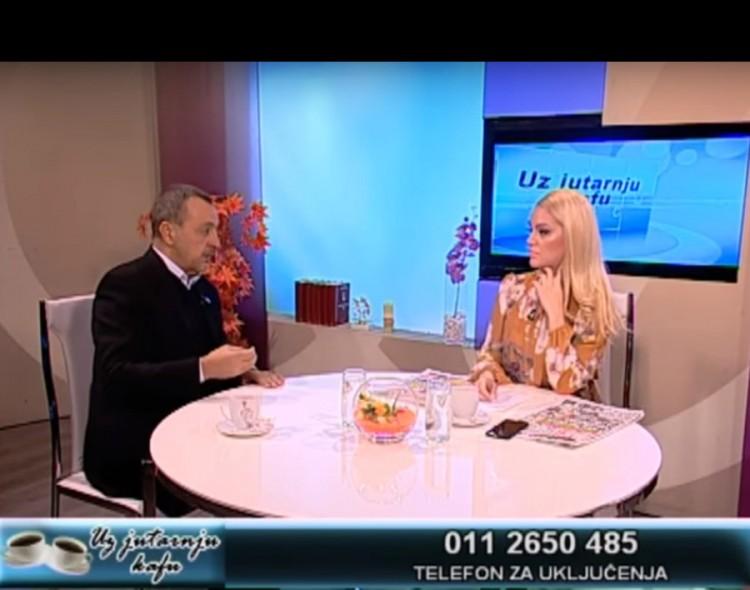 Živković u emisiji Uz jutarnju kafu na TV Naša [VIDEO]