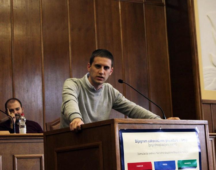 Eleković u Školi demokratije Otvorenog parlamenta