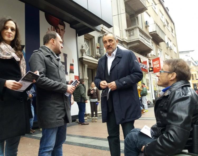 "Nova stranka podržala zahteve ""Grupe za slobodu medija"""