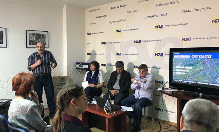"""Održana tribina """"Vode Beograda - život koji otiče"""""""