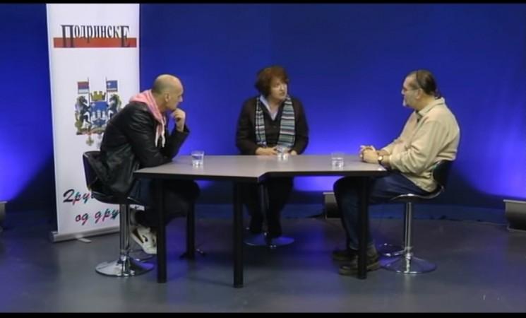 Vesna Rakić Vodinelić u emisiji Podrinske specijal na TV Šabac