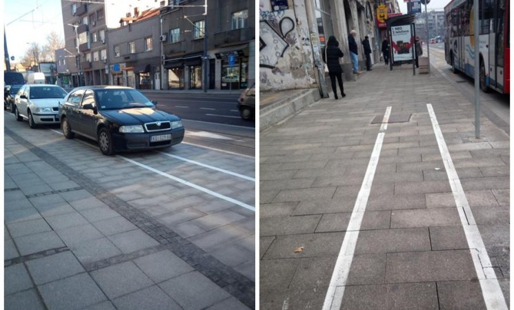 Palilula: Biciklističke staze ili još jedna prevara gradskih vlasti