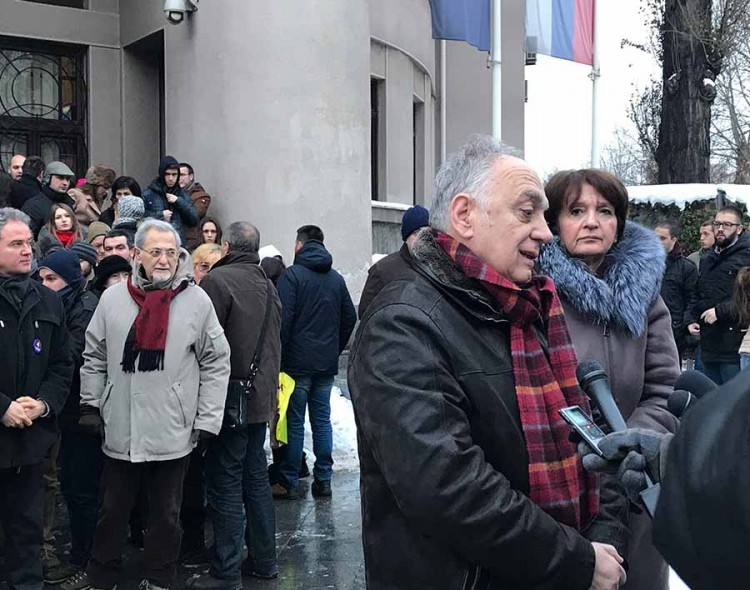 Akademik Teodorović: Nemam dilemu, glasam za broj 4 - Da oslobodimo Beograd!
