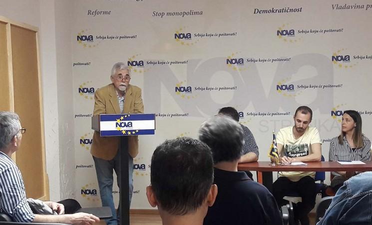 Novi Beograd izabrao: Siniša Damjanović predsednik Opštinskog odbora