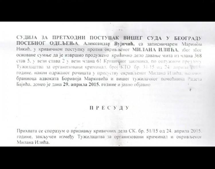 Dokazano: Poverenik SNS u Paraćinu osuđivan zbog davanja mita!
