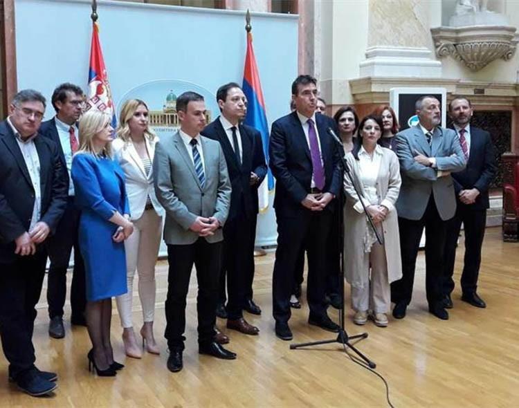 Opozicija napustila sednicu Skupštine Srbije