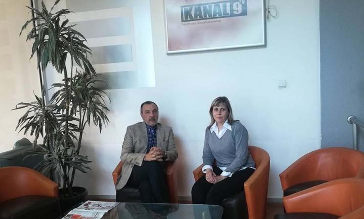 Podrška Maji Pavlović i novosadskoj TV Kanal 9