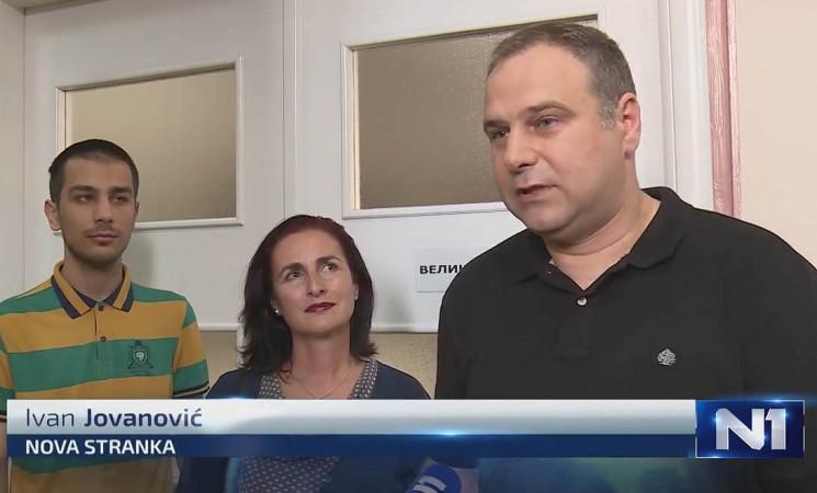 Jovanović: Odlažu skupštinsku sednicu, jer ih uplašila reakcija građana!