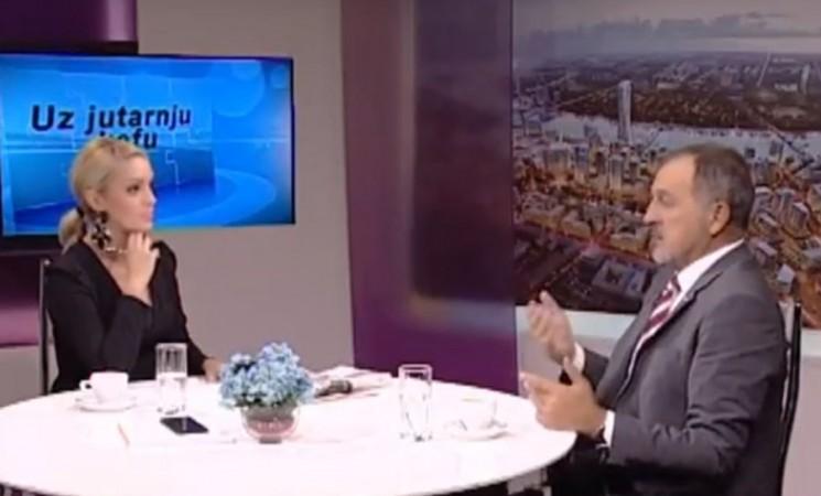 """Živković u emisiji """"Uz jutarnju kafu"""" na TV Naša"""