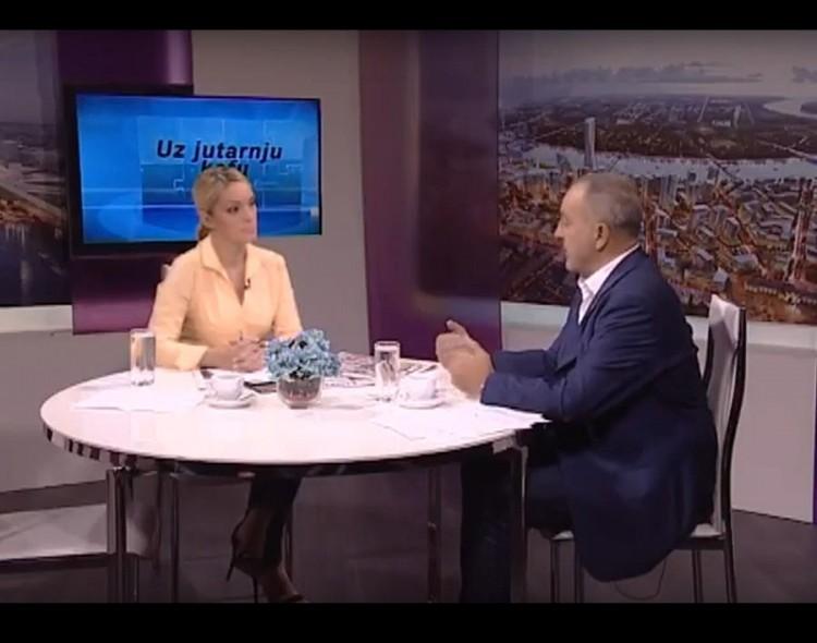 """[INTERVJU] Živković u emisiji """"Uz jutarnju kafu"""" na TV Naša"""