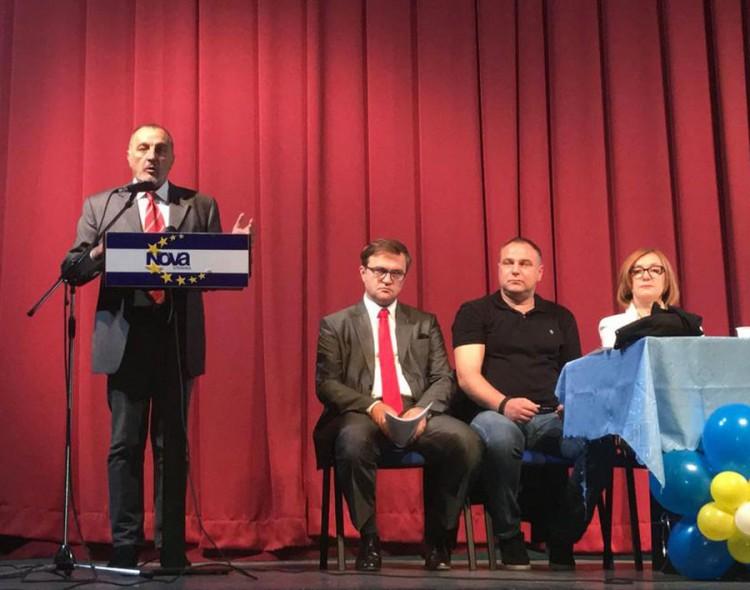 Cvijanov i Simić novi potpredsednici Nove stranke