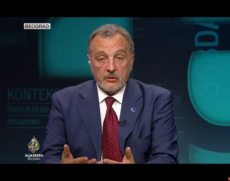 """Živković u emisiji """"Kontekst"""" na Al Džaziri"""