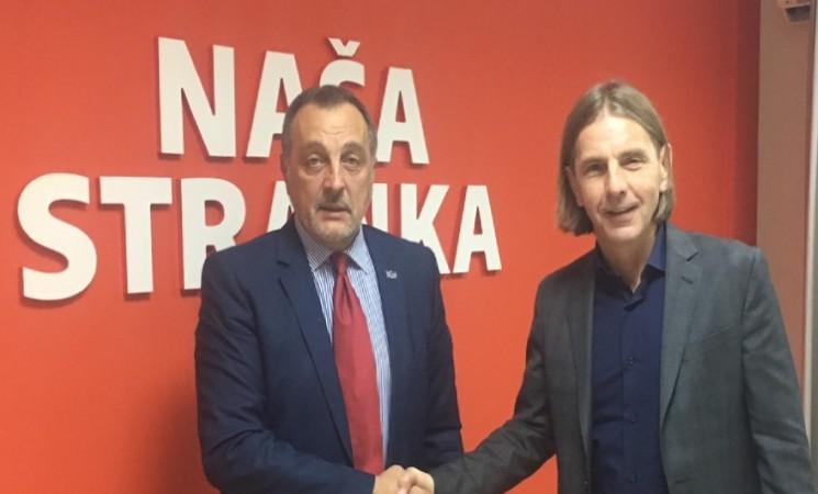 Srdačan susret u Sarajevu: Živković i Kojović o situaciji u regionu i budućoj saradnji