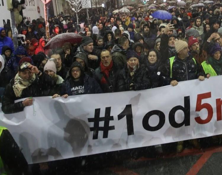 Nova stranka poziva na sastanak radi konkretizacije zahteva protesta