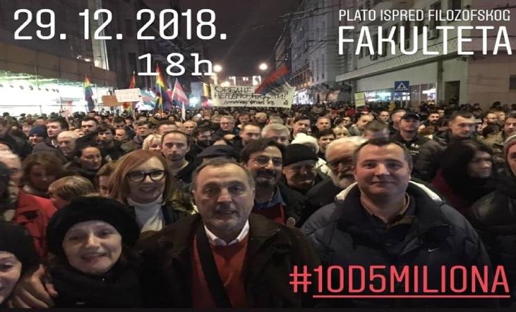 Svi na protest u Beogradu, neka nas prebroje ponovo!