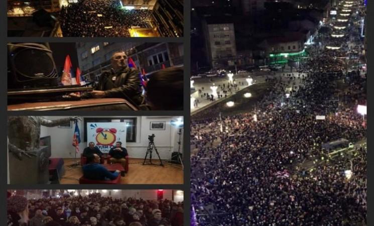 Beograd i Srbija neće stati dok Vučić ne bude sišao sa vlasti