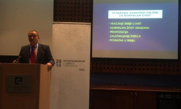 Živković na Ekonomskom fakultetu u Sarajevu o punoletstvu i lekcijama 5. oktobra