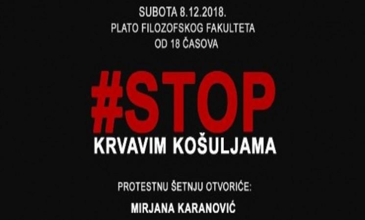 Zajedno u protestnu šetnju Beogradom