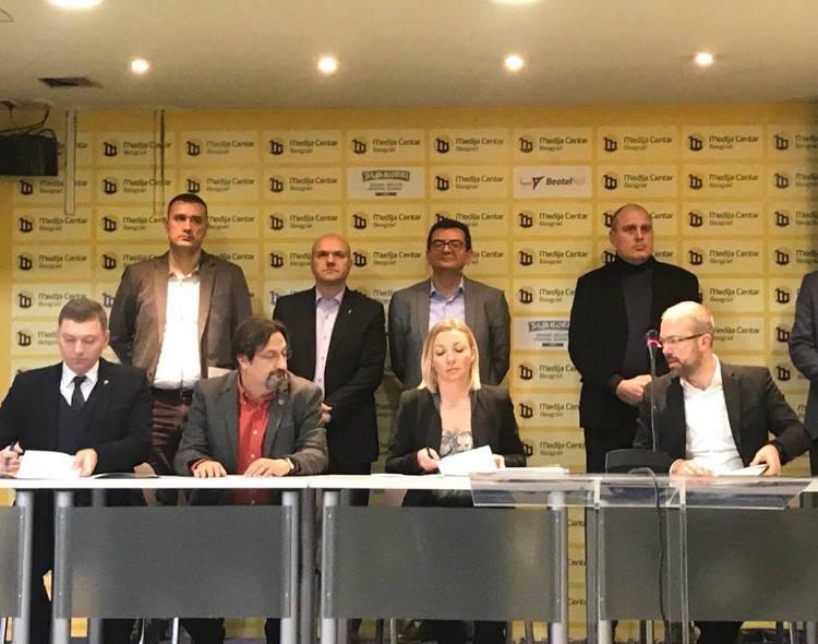 Opozicija ujedinjena u borbi za slobodne i poštene izbore