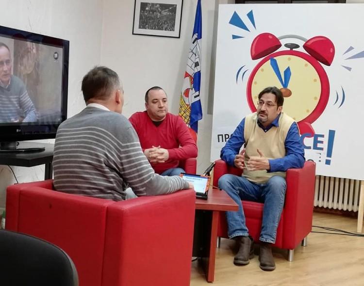 Movsesijan za TV Šabac: Prvo dogovor političkih aktera, pa onda pred medije