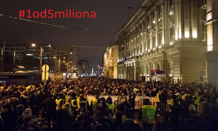 Sa jasnim zahtevima na ulice Beograda! Do pobede!