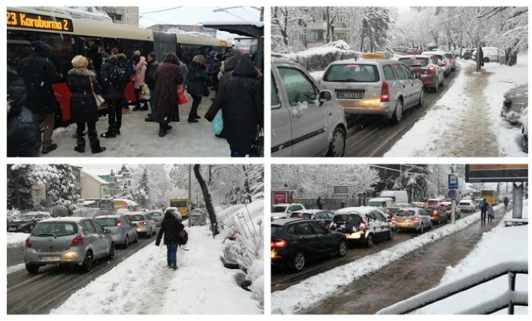 Beograd ponovo zavejan: Verujete li više Vesiću ili svojim očima?