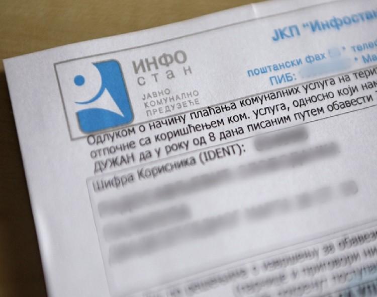 Infostan slao opomene Beograđanima koristeći usluge fantomskog advokata